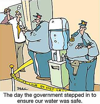local government, cartoon